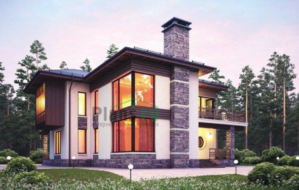 Кирпичный дом проект №38-41
