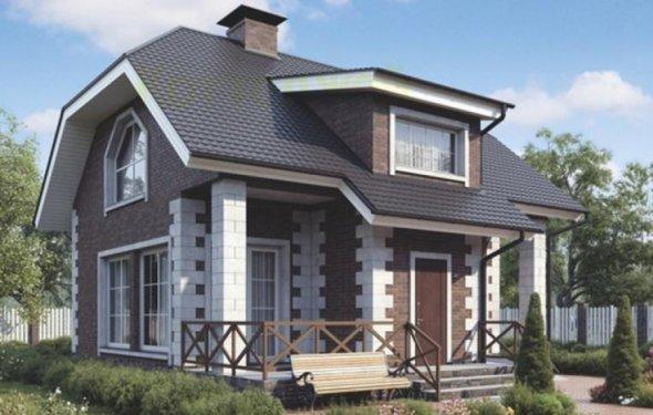 Красивый проект русского дома: