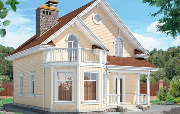 Проекты домов с мансардой: