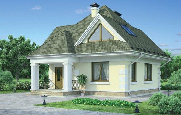 Дом из кирпича 100 кв.м проект